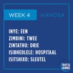 isiXhosa: Week 4