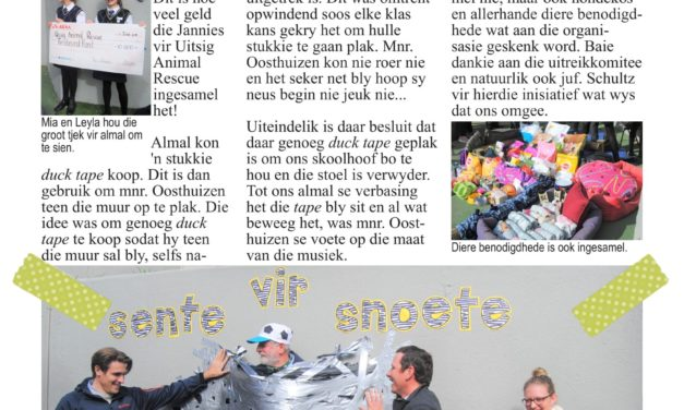 Die Suidooster 2019, Uitgawe 2