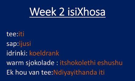 isiXhosa 2020: Week 2