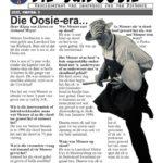 Die Suidooster 2020, Die Oosie uitgawe