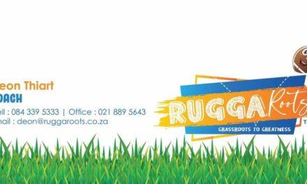 RUGGA ROOTS INSKRYWINGS