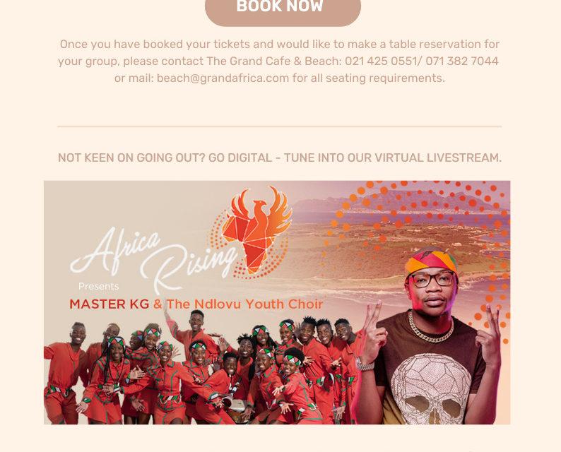 Ndlovu Youth Choir & Master KG: Sondag, 25 April
